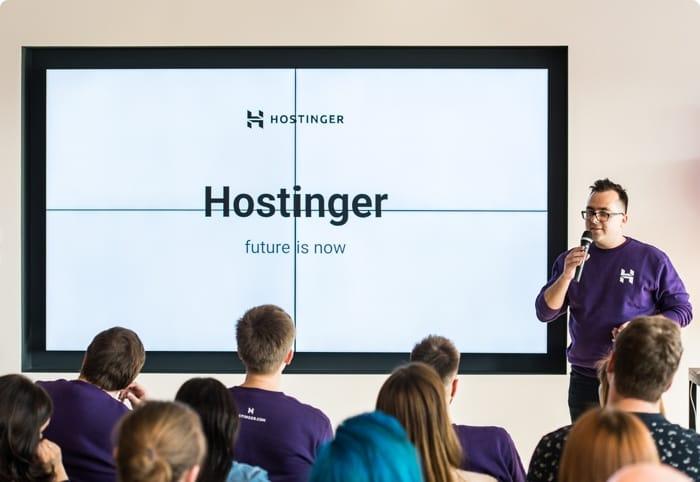 Presentación de Hostinger