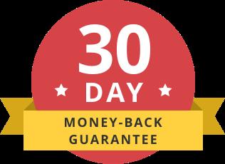 Značka záruky vrátenia peňazí
