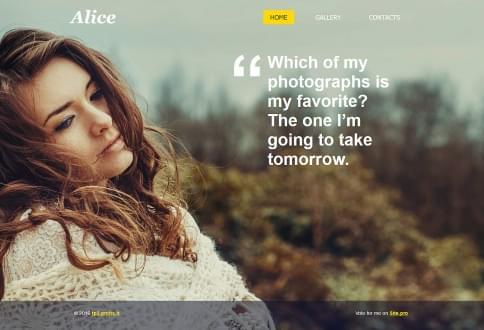 Website builder with hundreds of free website templates.